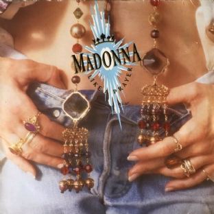 Madonna ‎- Like A Prayer (LP) (G-/G-)